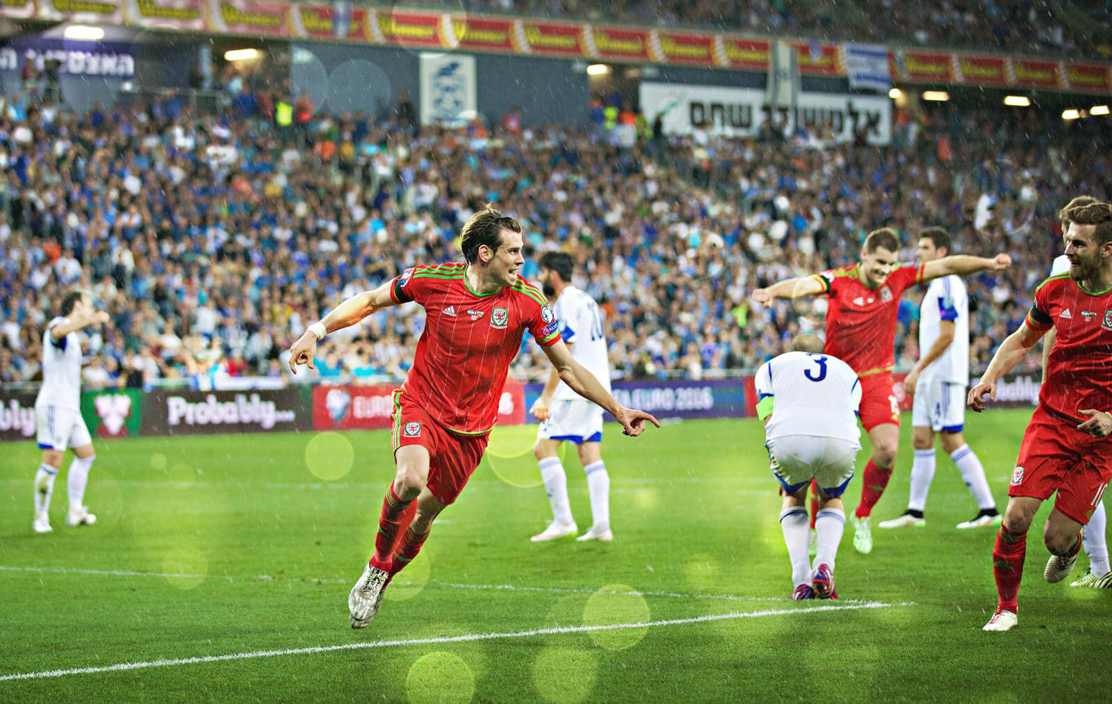 Gareth Bale FAW photography