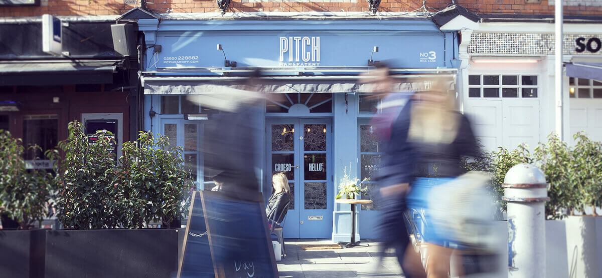 Pitch Bar and Eatery opens