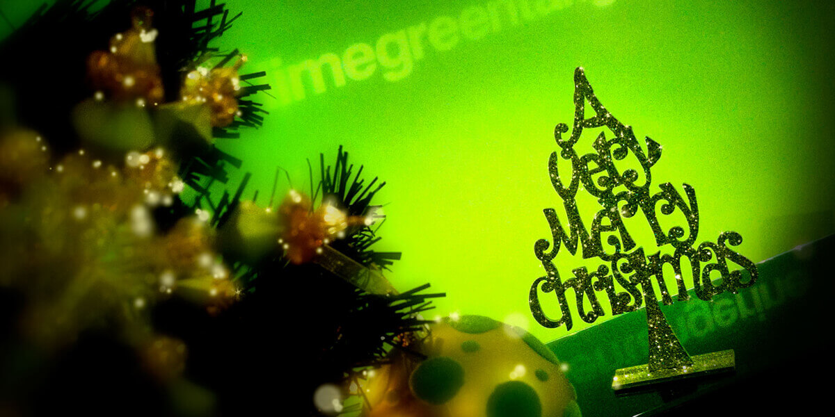 Limegreen Studios at Christmas