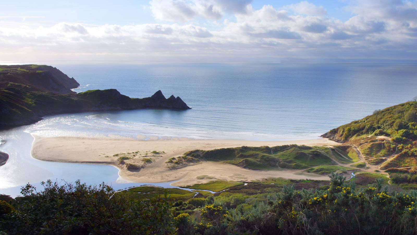 Gower Three Cliffs Bay